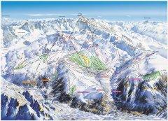 Pistekaart Alpe d'Huez