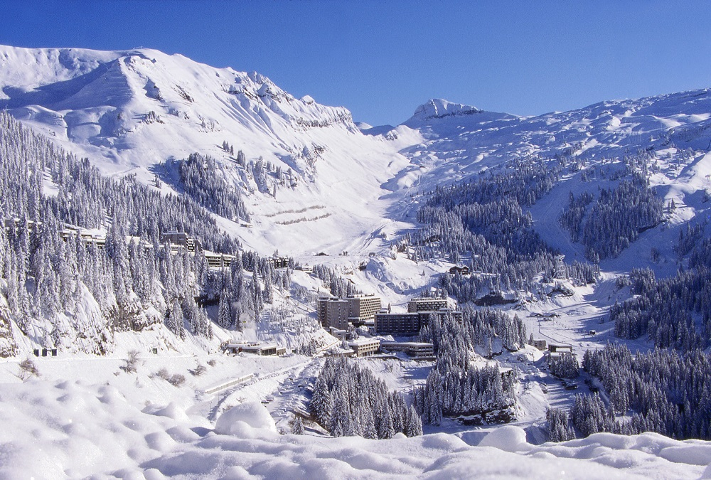Wintersport skivakantie Flaine Le Grand Massif
